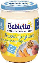 Bebivita Frucht & Joghurt Pfirsich-Maracuja ab 10. Monat