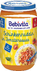 Bebivita Menü Schinkennudeln in Tomatensauce ab 12. Monat