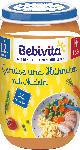 dm-drogerie markt Bebivita Kindermenü Gemüse und Hühnchen mit Nudeln ab 12. Monat