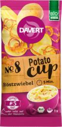 Davert Zwischenmahlzeit, Potato-Cup, Röstzwiebeln