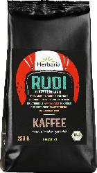 Herbaria Kaffee, entkoffeiniert, gemahlen, Rudi