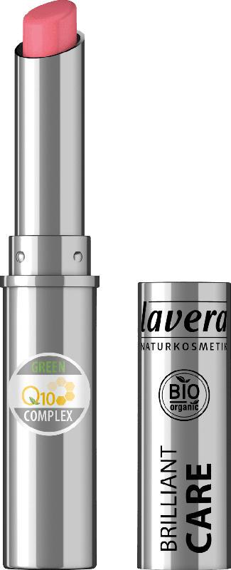 Lavera Lippenstift BEAUT. LIPS BRILLIANT CARE Q10 -Strawberry Pink 02-