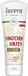Lavera Handcreme Händchen Halten mit Bio-Macadamianuss & Bio-Ahornsirup