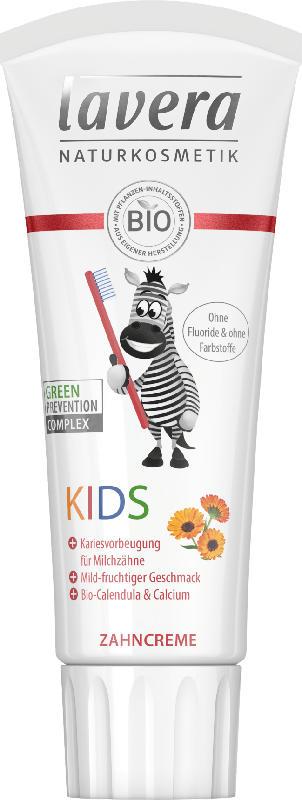 Lavera Zahnpasta Kinder, 0 bis 6 Jahre, fluoridfrei