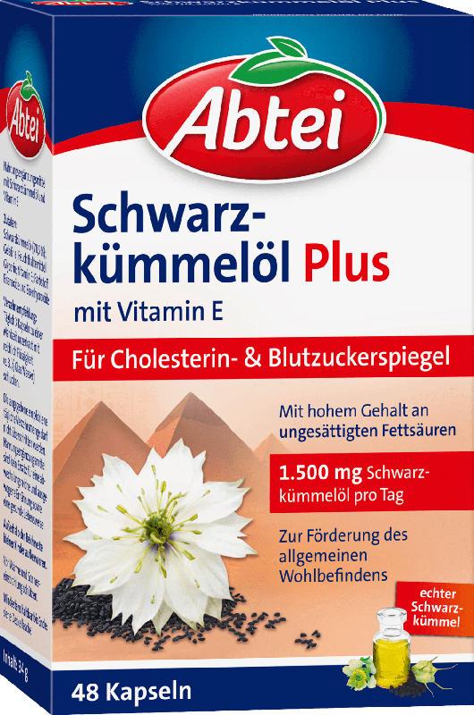Abtei Schwarzkümmelöl Plus Kapseln 48 St.