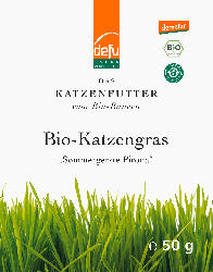 Defu Snack für Katzen, Bio Katzengras