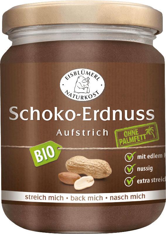 Eisblümerl Schokoladenaufstrich, Schoko-Erdnuss Aufstrich