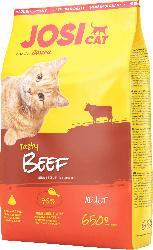 JosiCat Trockenfutter für Katzen, Adult, tasty beef mit Rind