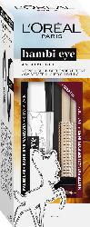 L'ORÉAL PARIS Geschenk-Set  False Lash Bambi Mascara Extra Black + Gratis Eyeliner Matte Signature 05 Burgundy