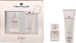 Tom Tailor Geschenkset for her Eau de Toilette 30ml + Duschgel 100ml