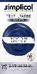 dm-drogerie markt Simplicol Textilfarbe intensiv Nacht- Blau