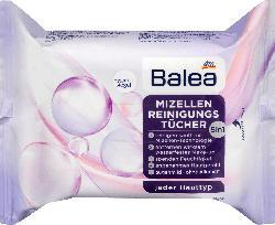 Balea Reinigungstücher mit Mizellen-Technologie