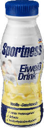 Sportness Eiweiß-Drink, Vanille-Geschmack, trinkfertig