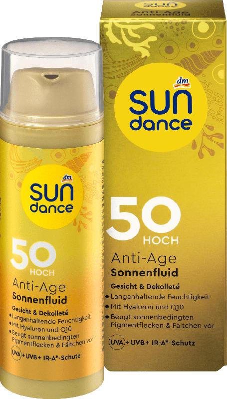 SUNDANCE Sonnenfluid Gesicht, Anti-Age, LSF 50