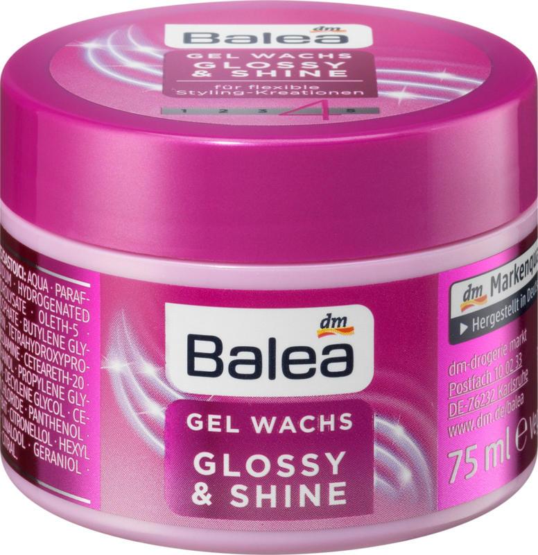 Balea Styling Gel Glossy & Shine Glanz Gel Wachs
