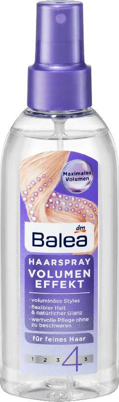 Balea Haarspray Volumen Effekt