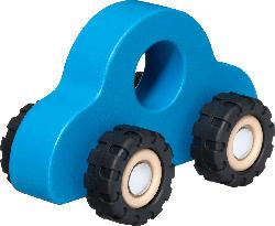 Entwicklungsfördernde Produkte Greifauto aus Holz, blau, für Mädchen und Jungen