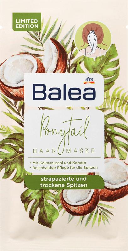 Balea Haarmaske Ponytail Kokosnuss Tropical Hair
