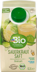 dmBio Saft, Sauerkraut-Saft, Demeter