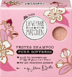 Langhaarmädchen Festes Shampoo Pure Softness