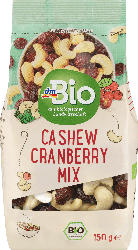 dmBio Nuss- & Trockenobst-Mischung Cashew Cranberry Mix