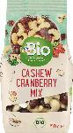 dm-drogerie markt dmBio Nuss- & Trockenobst-Mischung Cashew Cranberry Mix