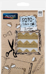 Paradies Fotoecken Kraftpapier