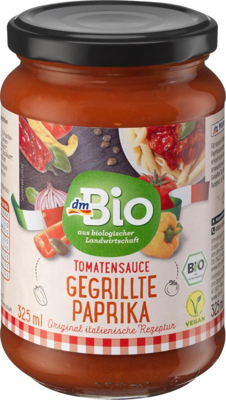dmBio Sauce, Tomatensauce gegrillte Paprika