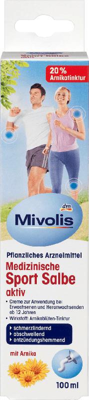 Mivolis Medizinische Sportsalbe aktiv