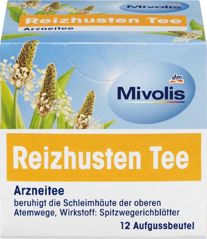 Mivolis Arznei-Tee, Reizhusten Tee (12 x 1,4 g)