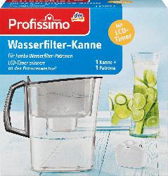Profissimo Wasserfilter Kanne + 1x Patrone