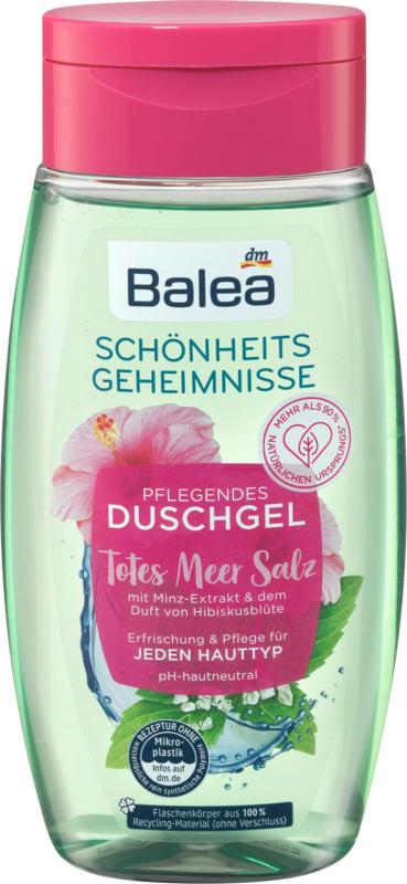 Balea Dusche Schönheitsgeheimnis Totes Meer Minze & Hibiskus