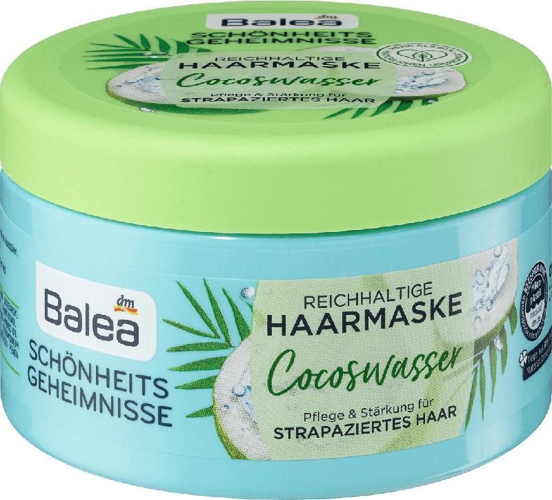 Balea Schönheitsgeheimnisse Haarmaske Cocoswasser