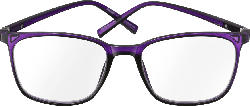 VISIOMAX Lesebrille lila Dioptrie +2,5