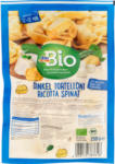 dm-drogerie markt dmBio Nudeln, Dinkel Tortelloni gefüllt mit Ricotta & Spinat, Dinkel