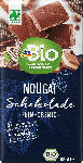dm-drogerie markt dmBio Schokolade, Nougat Vollmilch-Schokolade, Naturland