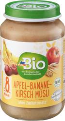dmBio Apfel-Banane-Kirsch Müsli ab 8. Monat, Demeter