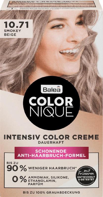 Balea COLORNIQUE Haarfarbe Smokey Beige 10.71