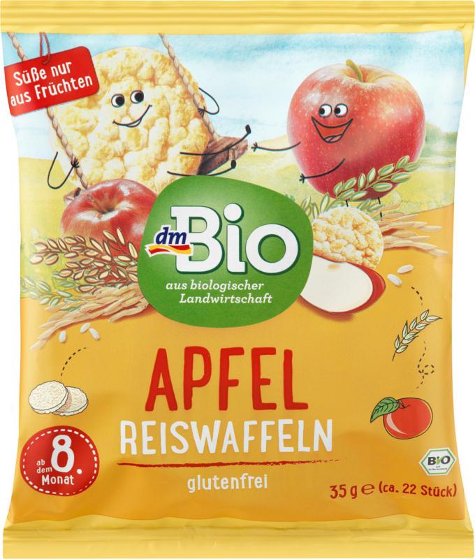 dmBio Reiswaffeln Apfel, ab dem 8.Monat