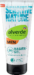 alverde MEN Rasiergel Sensitive Nature