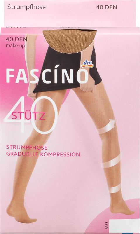 FASCÍNO Stütz Strumpfhose 40 den, make up, Gr. 50/52