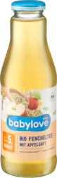 babylove Bio Fencheltee mit Apfelsaft