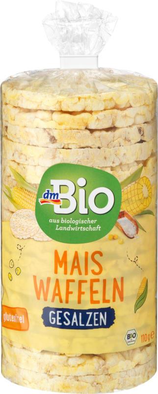 dmBio Waffeln, Mais, gesalzen