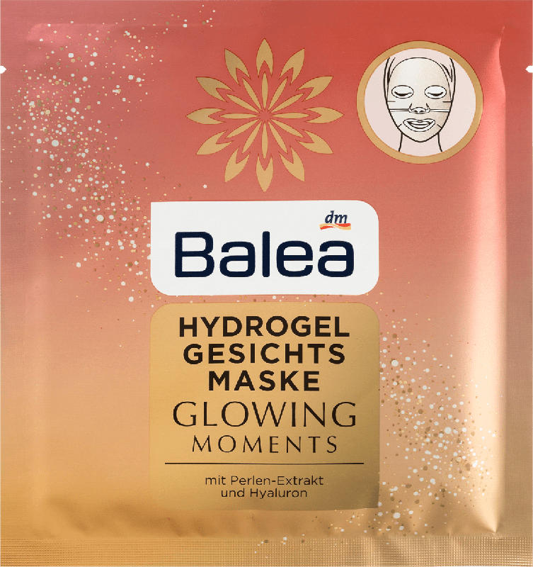 Balea Maske Glowing Moments Hydrogel
