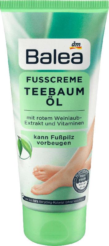 Balea Fuß-Creme Teebaumöl