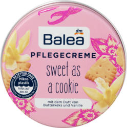 Balea Pflegecreme Sweet as a cookie