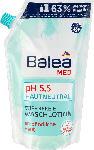 dm-drogerie markt Balea MED Flüssigseife pH 5,5 hautneutral seifenfreie Waschlotion Nachfüllpackung