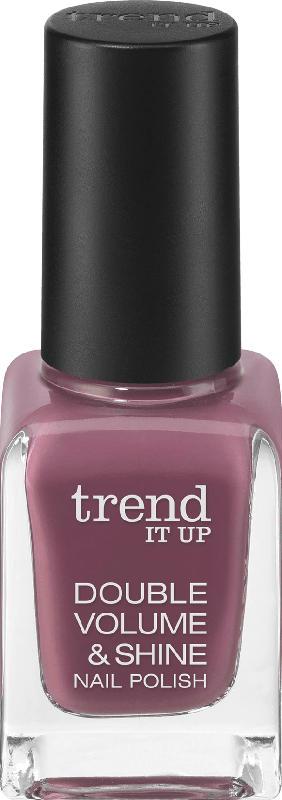 trend IT UP Nagellack Double Volume & Shine Nail Polish violett 364