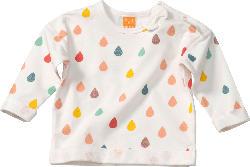 PUSBLU Baby Shirt, Gr. 80, in Baumwolle und Elasthan, weiß, bunt