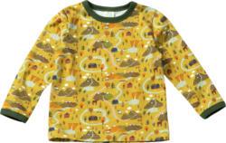 ALANA Kinder Pullover, Gr. 92, in Bio-Baumwolle, gelb, bunt